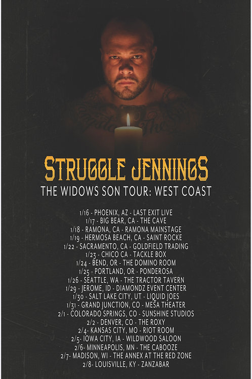 Widows Son: West Coast Tour Poster