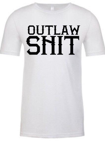 Outlaw shit- Tee (white)