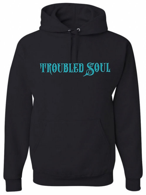 Troubled Soul Hoodie (Turquoise)