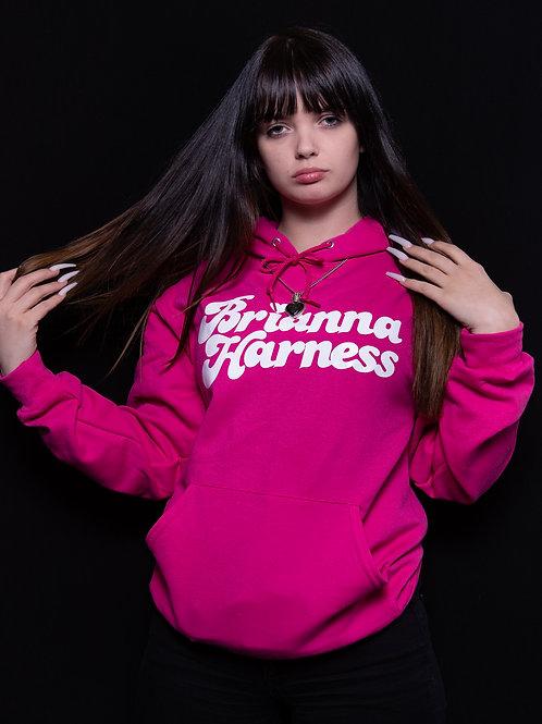 Pink Brianna Harness Hoodie