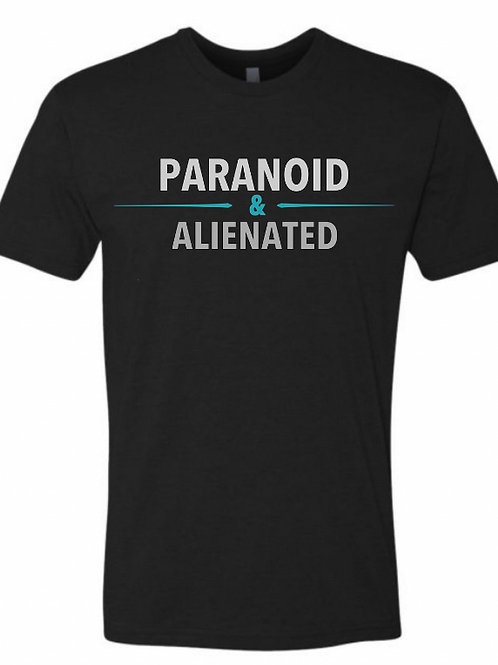 Paranoid & Alienated T-shirt