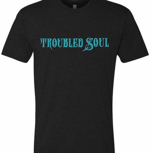 Troubled Souls T-shirt (Turquoise)