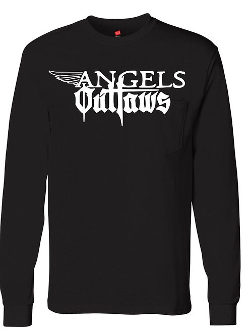 Angels and Outlaws- longsleeve