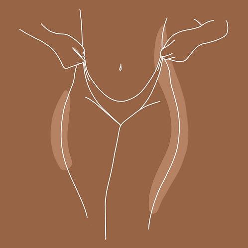 Thong Underwear Print