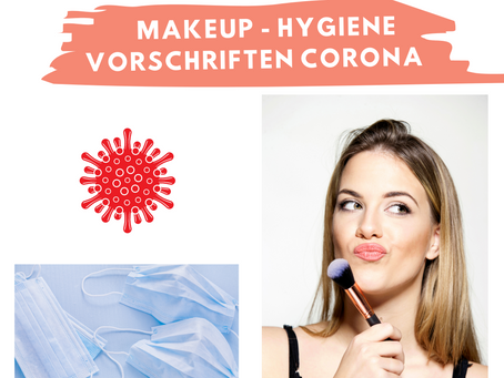 Make-up Hygiene während Corona
