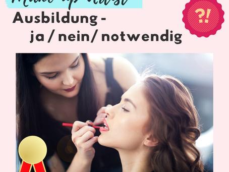 Make-up Ausbildung / Zertifikat? Was ist notwendig?