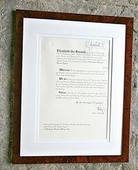 Certificates Gallery