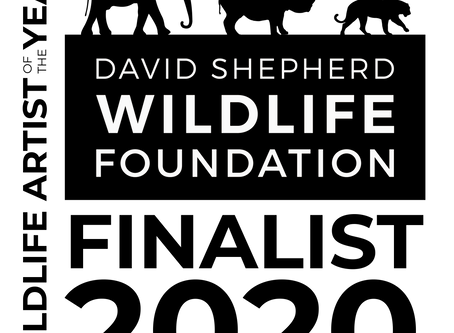 David Shepherd Wildlife Foundation Wildlife (DSWF) Artist of the Year Event 2020