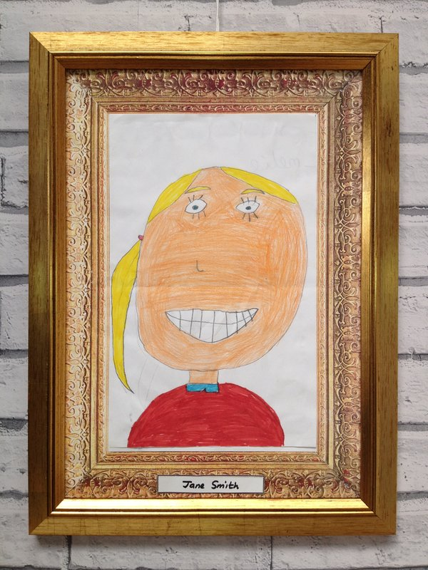 Childs Self Portrait