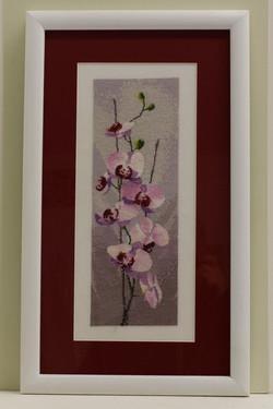 Orchid Cross Stitch
