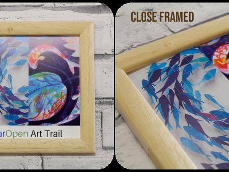 7 Ways to Frame Paper Art Work