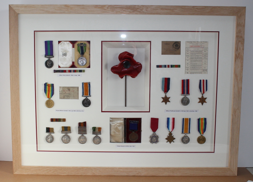Family Military Medals