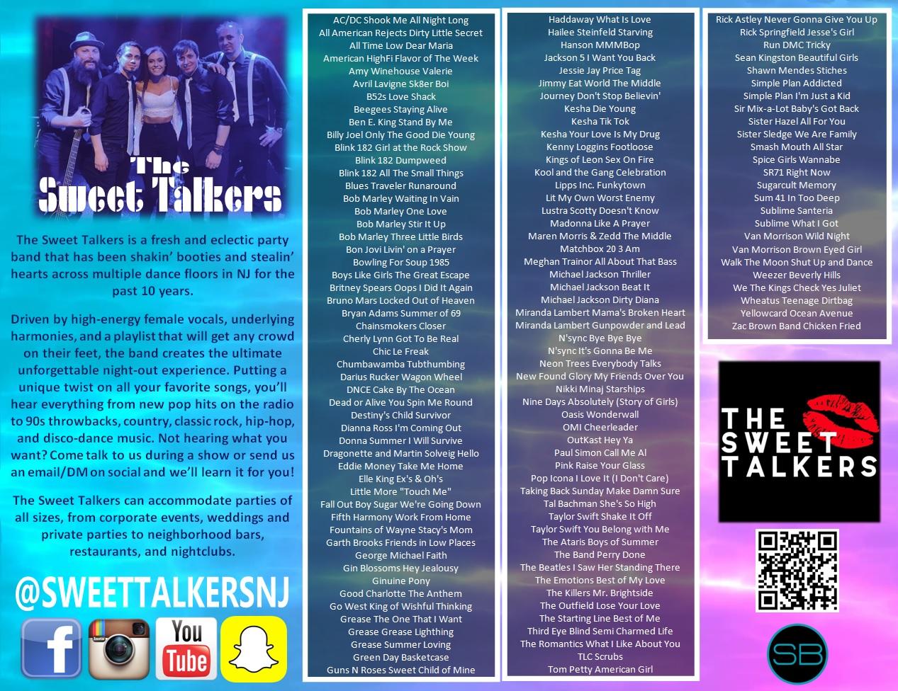 Sweet Talkers One Sheet 2020