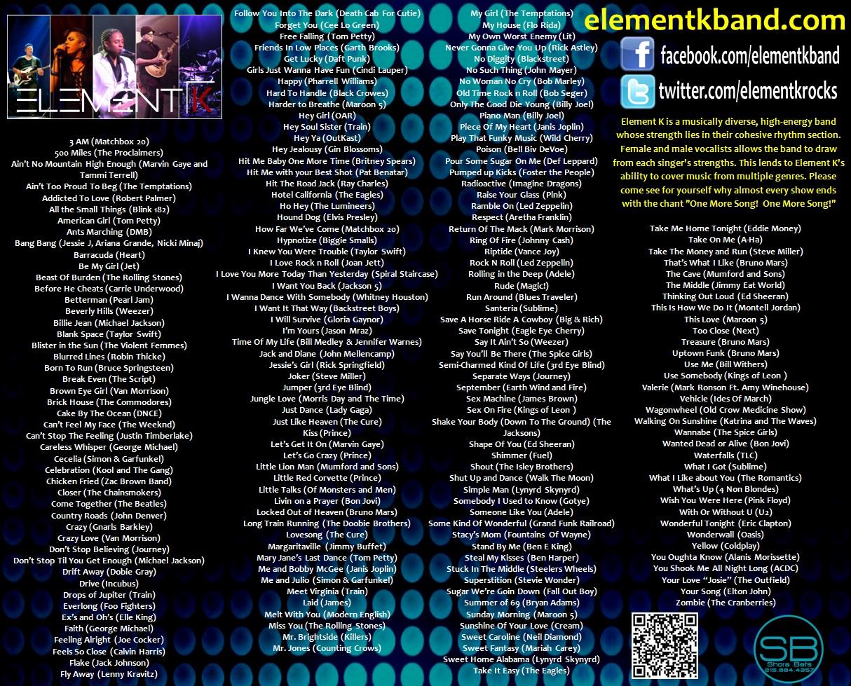Element K One Sheet