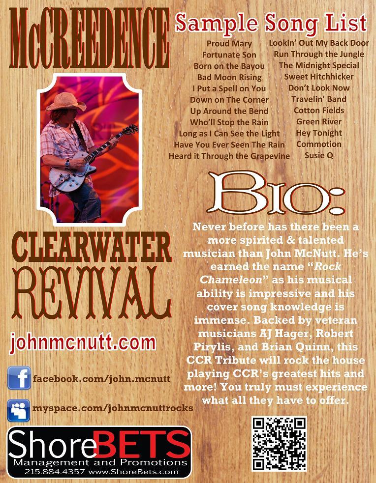 John McNutt (CCR Tribute)