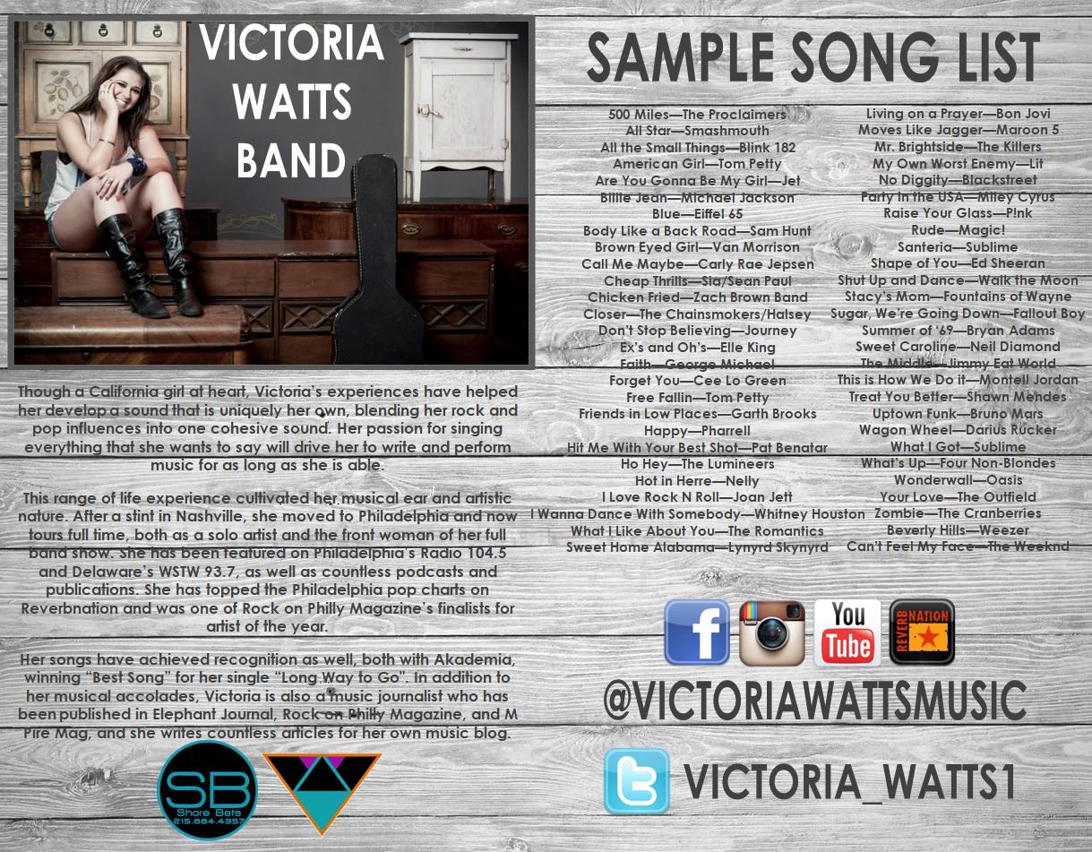 Victoria Watts Band