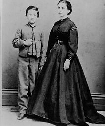 Susan and son, George