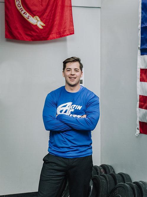 Royal Blue- Adult, Unisex, Long Sleeve T-Shirt