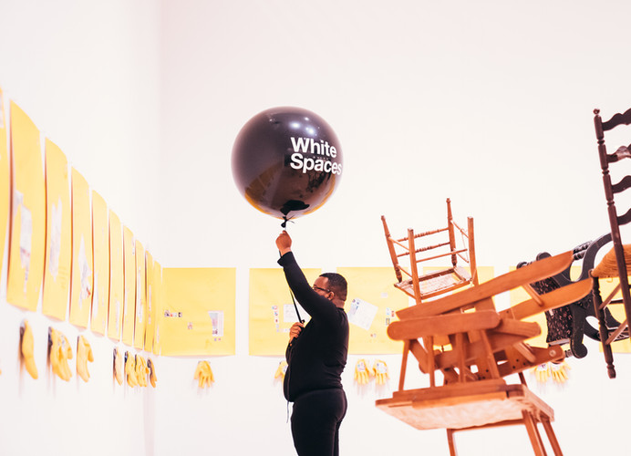 Black Bodies White Spaces photo by Rory K James