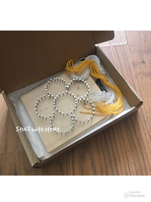 Flower String Art Kit