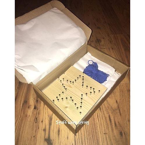 Star String Art Kit