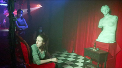 Bianca in the red room