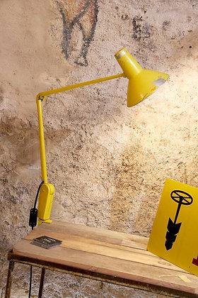 Lampe industrielle Suisse années 50
