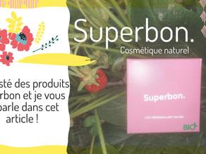 Le Carnet de Milie a testé des produits Superbon et je vous en parle dans cet article !