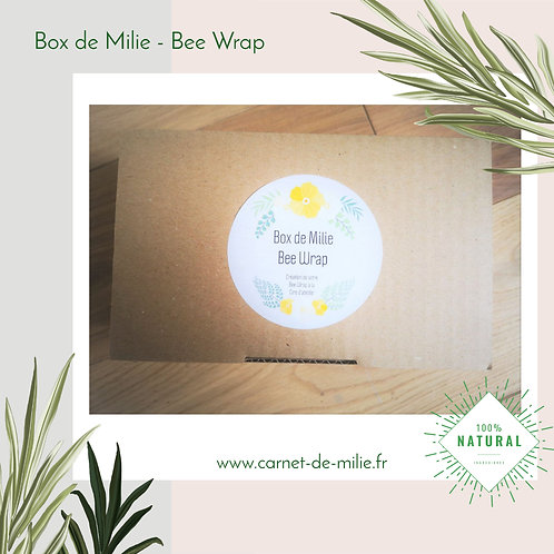 Box de Milie - Kit DIY Bee Wrap