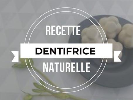 Recette Dentifrice Solide Zéro Déchet  & Naturelle