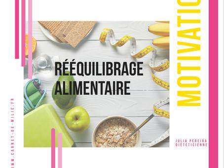 Comment rester motivé pendant un rééquilibrage alimentaire ? Julia Pereira Diététicienne