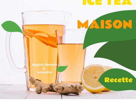 Recette de  Ice Tea Glacé, par Régina Delarse et Intimithé