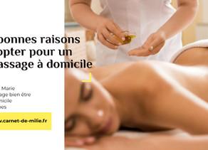 5 bonnes raisons d'opter pour un massage à domicile, Instant Bien-être
