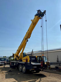 We offer Crane service and repairs.