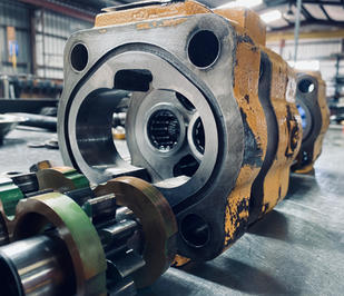 We offer hydraulic pump service and repairs.