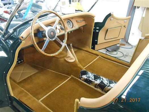 Two tone interior.