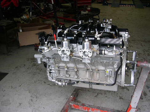 XKs Motorsport rebuilt engine