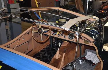 Morgan DHC with interior and wood trim restoration by XKs Motorsport