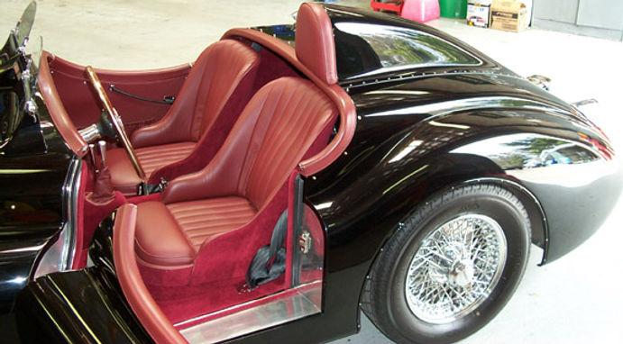 XK120 custom interior by XKs Motorsport