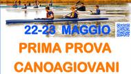 22-23 MAGGIO CANOAGIOVANI A CANDIA