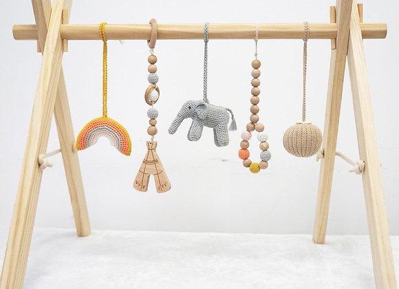 Elephant Play Gym Set