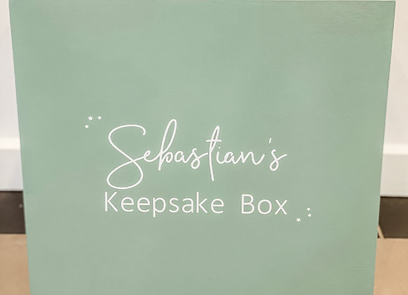 Keepsake Box - 5 colours available