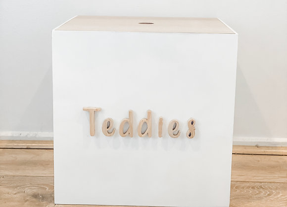 White Personalised Box