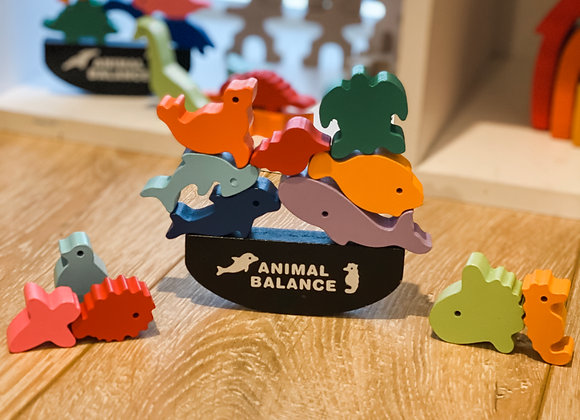 Tiny Treasures Animal Balance Game