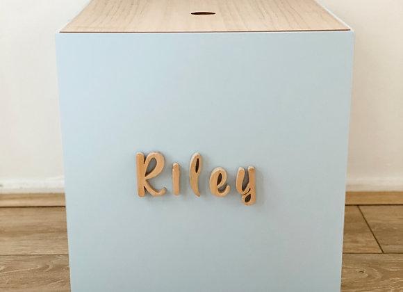 Dusty Blue Personalised Box