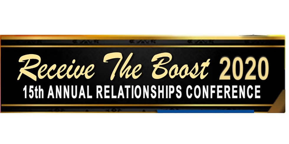 Receive The Boost Relationships Conference