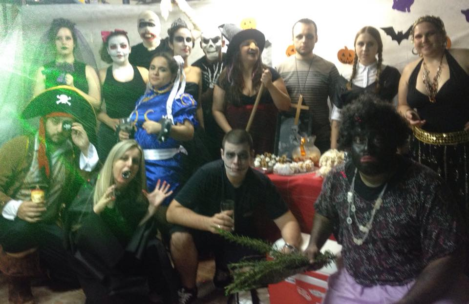 Primeiro Halloween do lab