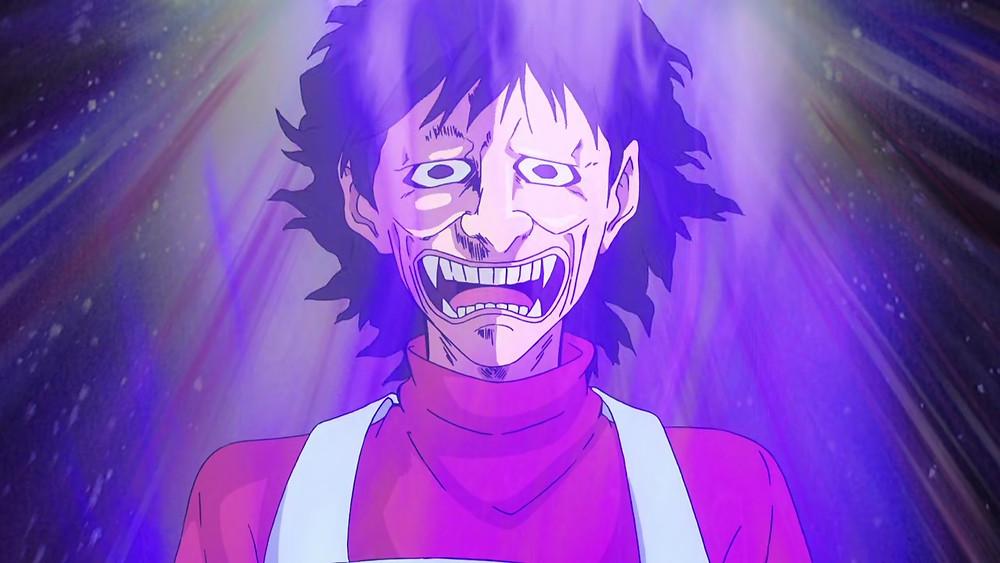 Kusuo Saiki mother Kurumi Saiki angry demon face troll face