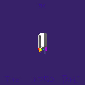 The Indigo Tape Art Cover