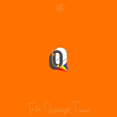 Orange Tape Art Cover